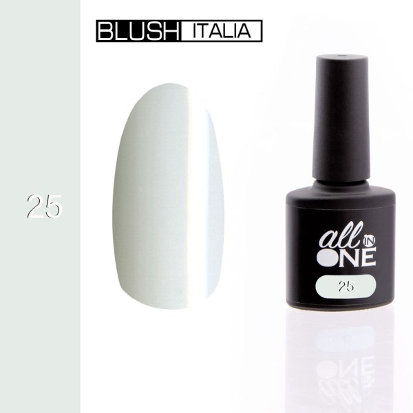 smalto semitrasparente all in one25 blush italia