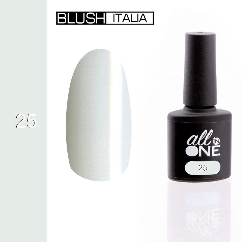 smalto semitrasparente all in one25 blush italia