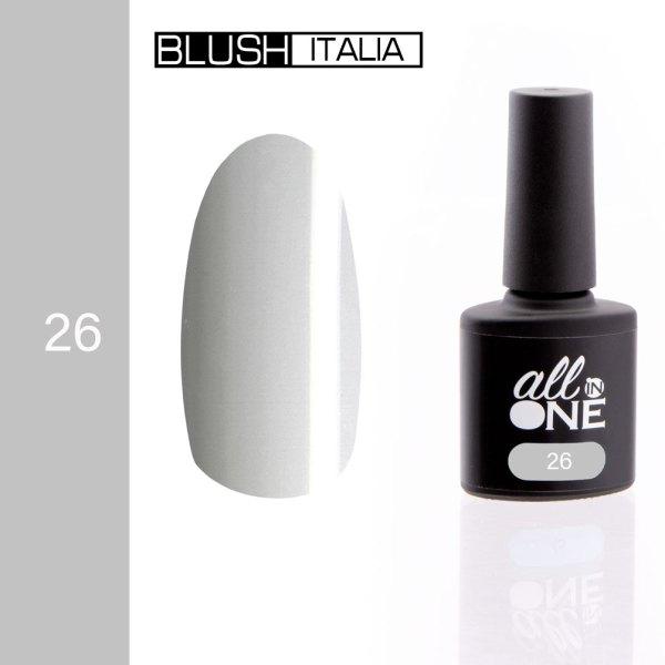 smalto semitrasparente all in one26 blush italia