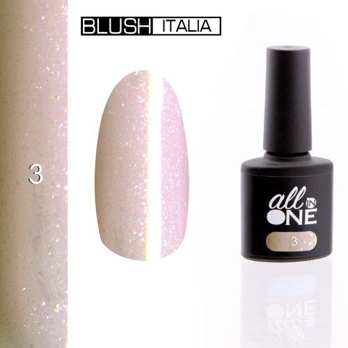 smalto semitrasparente all in one3 blush italia