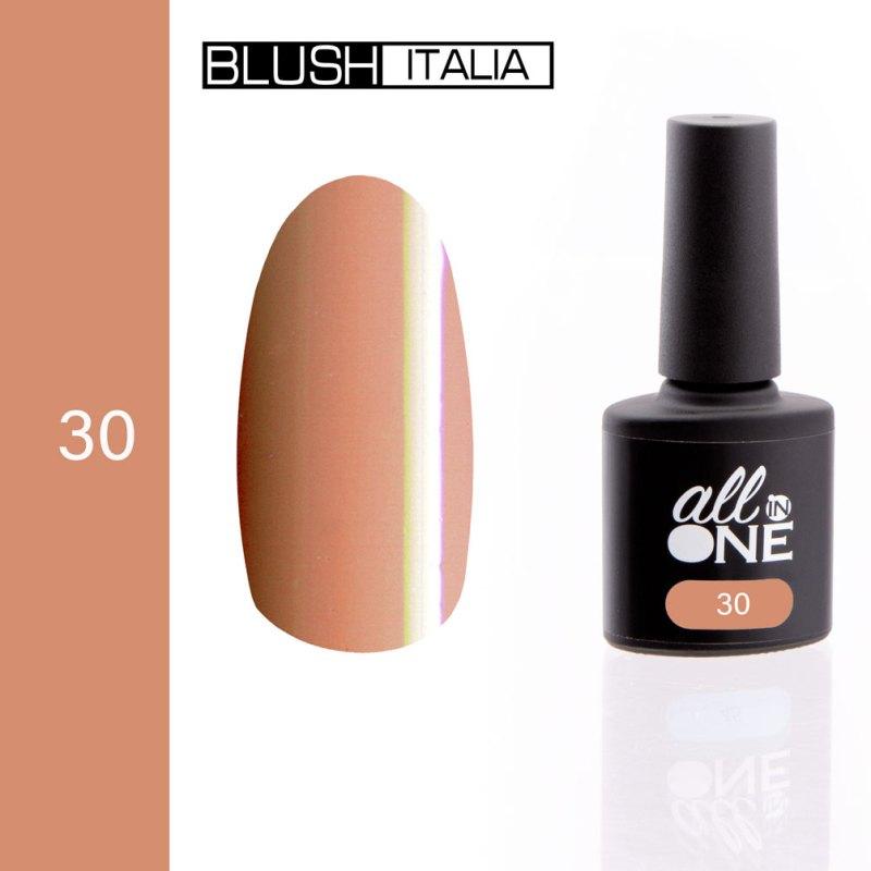 smalto semitrasparente all in one30 blush italia