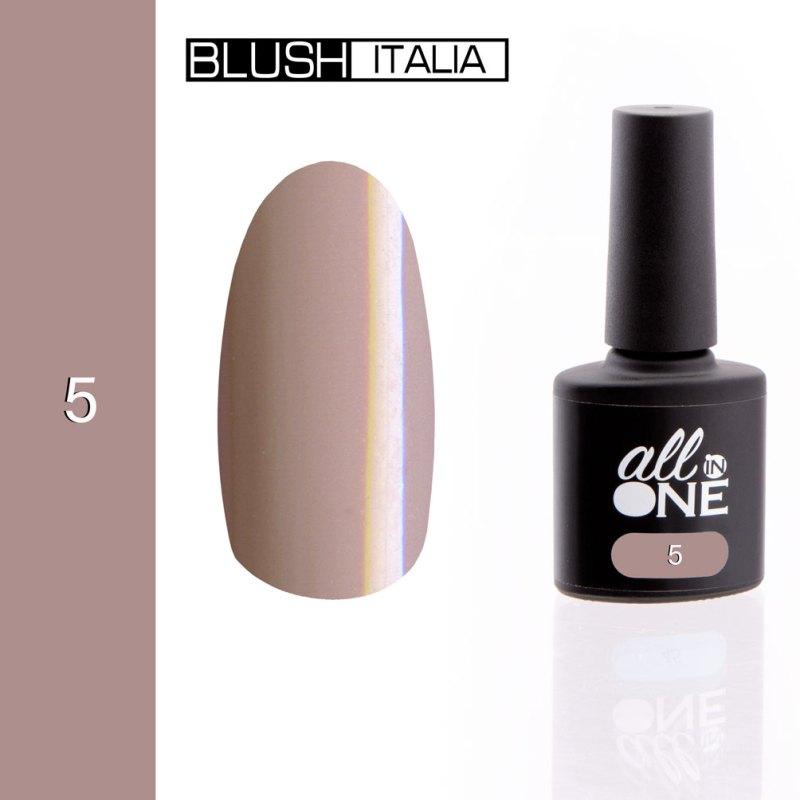 smalto semitrasparente all in one5 blush italia