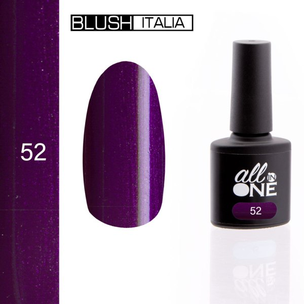 smalto semitrasparente all in one52 blush italia