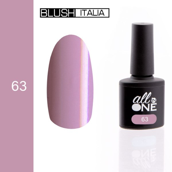 smalto semitrasparente all in one63 blush italia