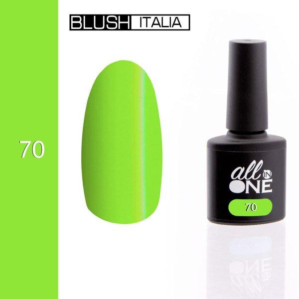 smalto semitrasparente all in one70 blush italia