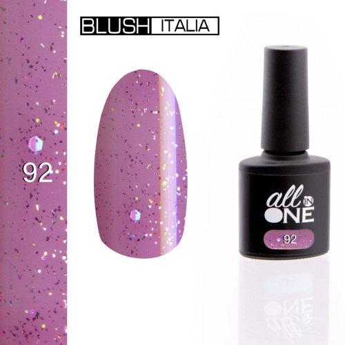 smalto semitrasparente all in one92 blush italia