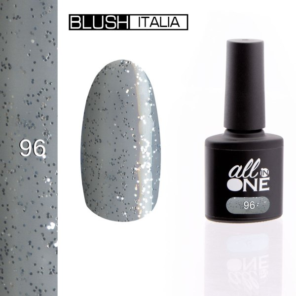 smalto semitrasparente all in one96 blush italia