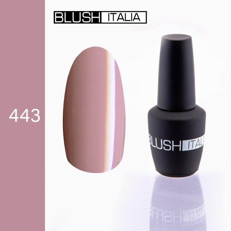 gel polish 443 blush italia
