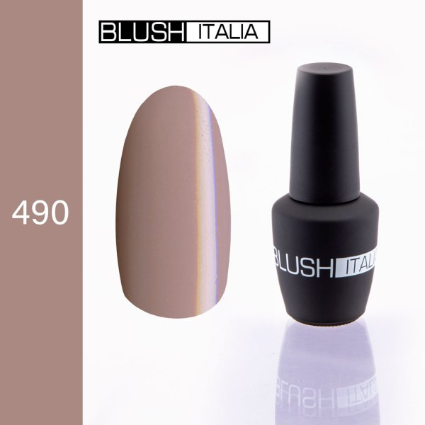 gel polish 490 blush italia