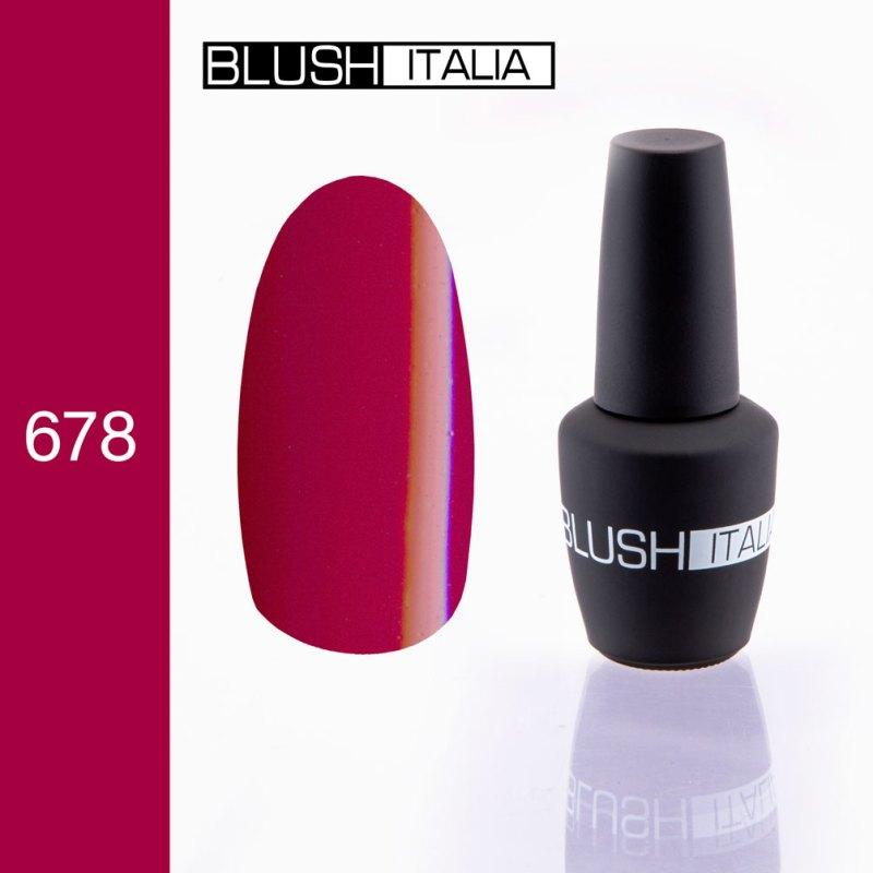 gel polish 678 blush italia