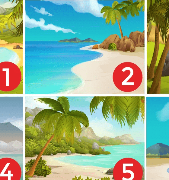 A beach could reveal your personality 6