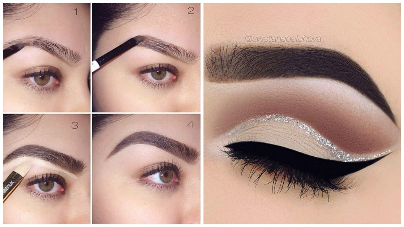 Image result for make a perfect eyebrow