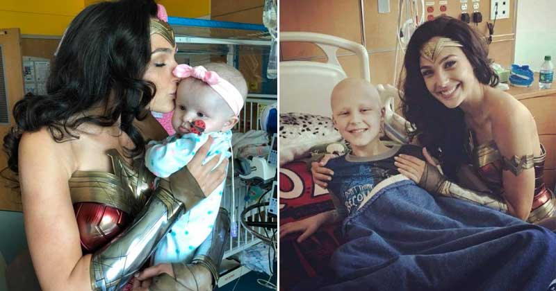 Gal Gadot Visit The Children Hospital By Taking A Special Off From Her Work 1