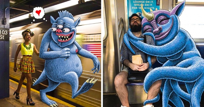 10 Best Images Drawing Of Monsters Next To The People 1