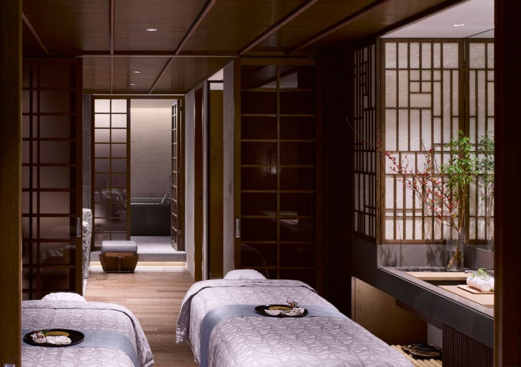Four Seasons Kyoto Spa Treatment Room