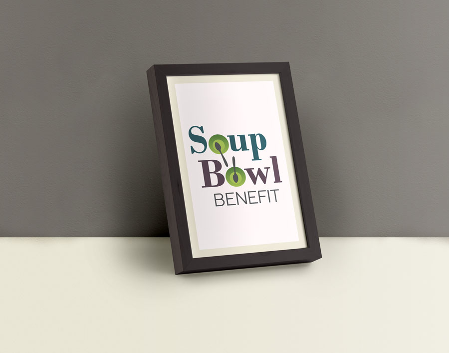Logo for the Soup Bowl Benefit