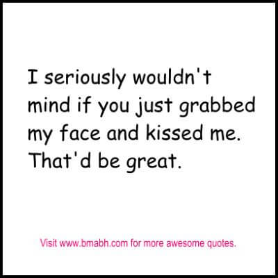 Cute Love Quotes for your boyfriend quotes with pictures on www.bmabh.com #kiss