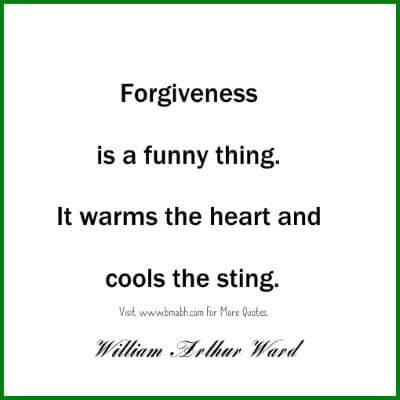 Good Forgiveness Quotes with images