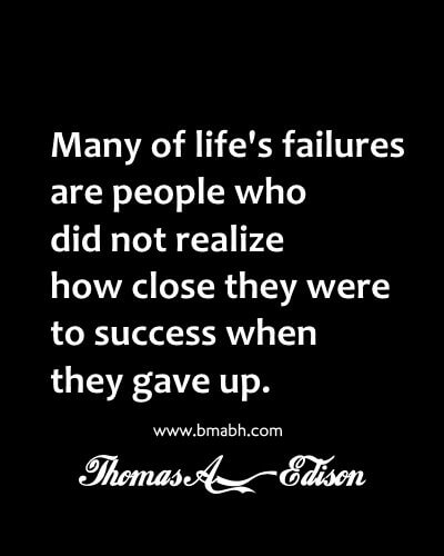 Hold on, You are nearly there. Do not give up!