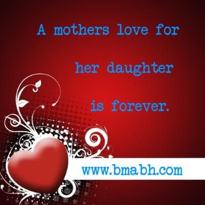 Mother Daughter Quotes To Melt Your Heart at www.bmabh.com