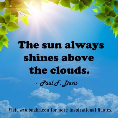inspirational cloud quotes