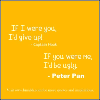 funny Peter Pan Quotes