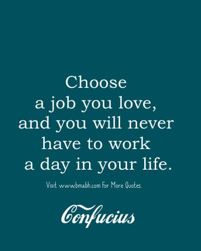 Confucius Quotes About Work