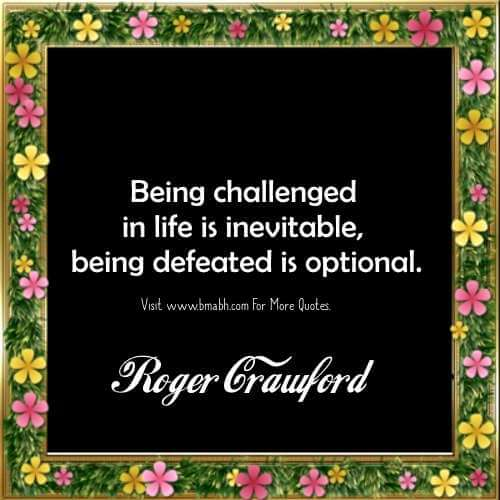Challenge Quotes - Inspirational Quotes About Challenge