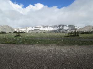 Snowy range shot