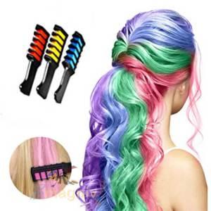 סט 3 צבעים זמניים לשיער לילדים ומבוגרים