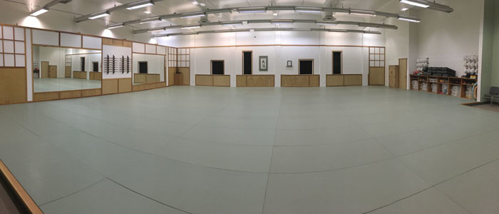 Main training area