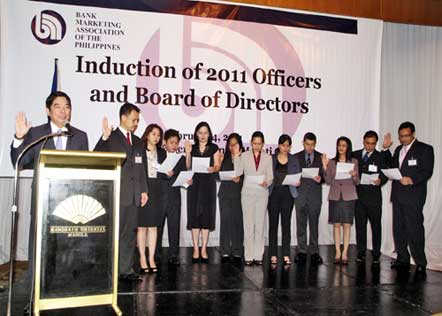 New BMAP Officers Inducted