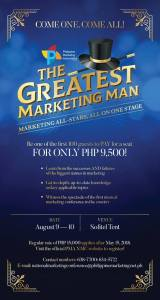 "Philippine Marketing Association ""The Greatest Marketing Man"" @ Sofitel Tent"