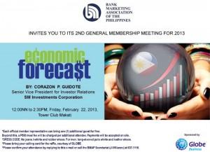 2nd 2013 General Membership Meeting