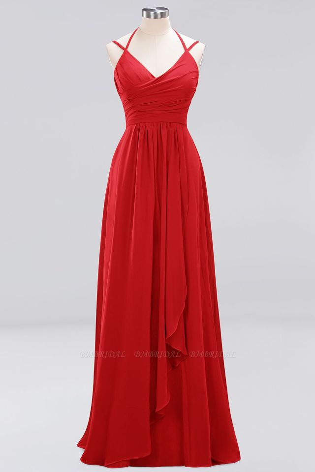 red,bridesmaid,dresses