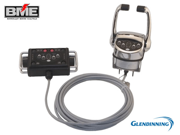 """Glendinning Handheld Remote Control™ """"Plug-In"""" For Increased Mobility"""