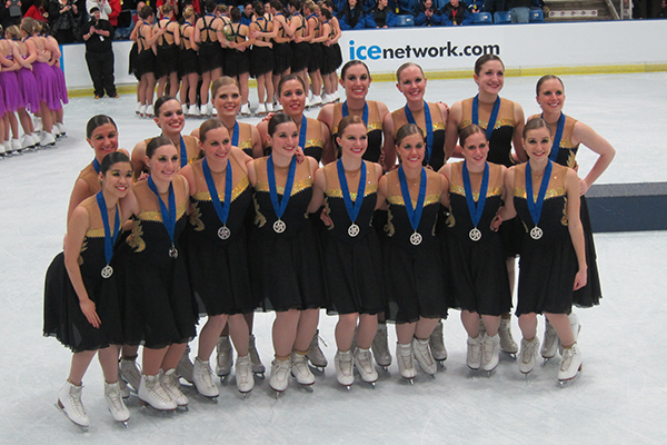 BME junior's collegiate team wins at U.S. Skating Championships