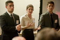 BME undergrads present at Spin In Showcase