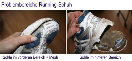 Problembereiche Schuh