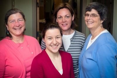 Dr. Valerie Rooney, Dr. Heather Lesage-Horton, Cynthia Howes,RN, CPNP, Dr. Susan Slowinski