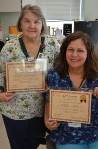 l. to r. - Ellen Wapner and Susan Gautot