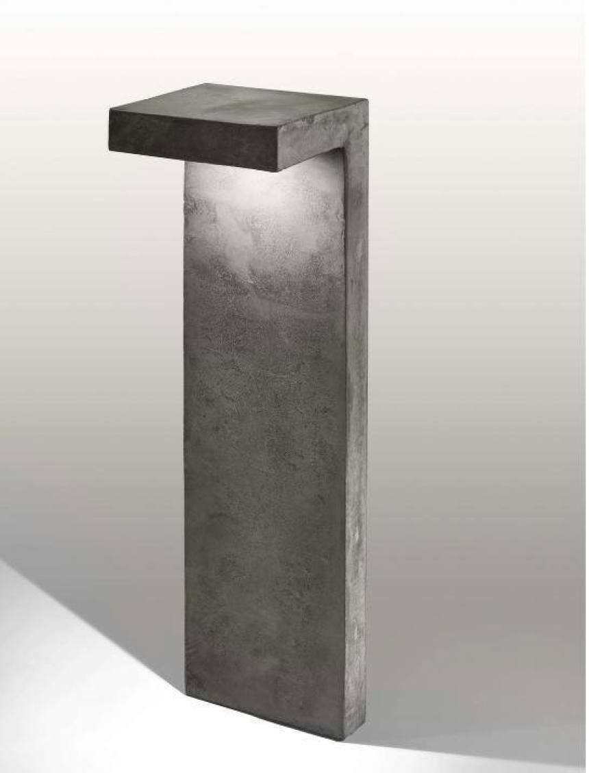 Le tante forme del cemento nell'arredamento