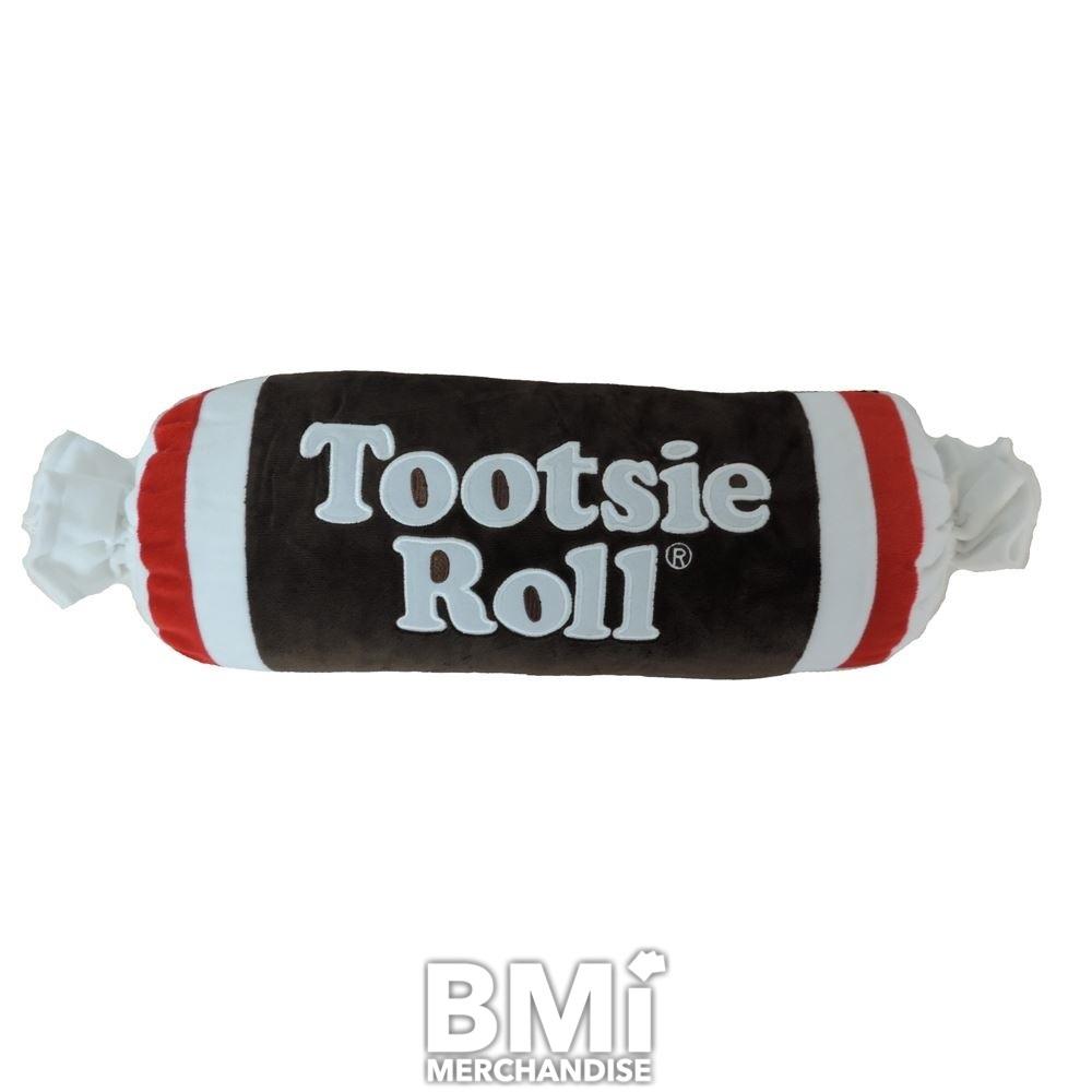 30inch tootsie roll plush pillow