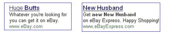 Bad eBay ads