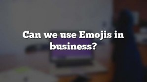 Can we use Emojis in business?