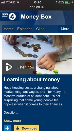 BBC Moneybox presents