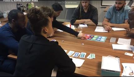 Youth leaders play bmoneywize game