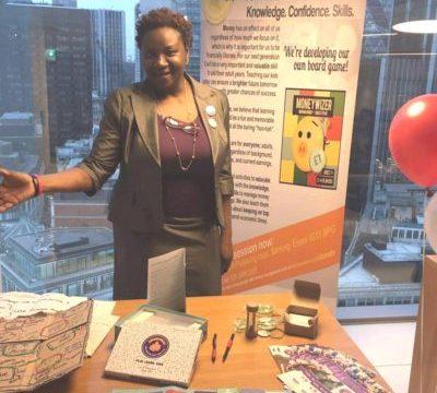 Arinola displays bMoneywize finance toolkit