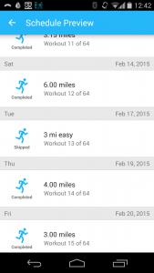 skipped Feb 17 run