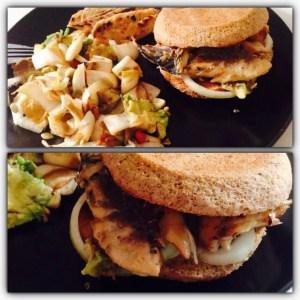 Le burger Paléo de Lolita P.